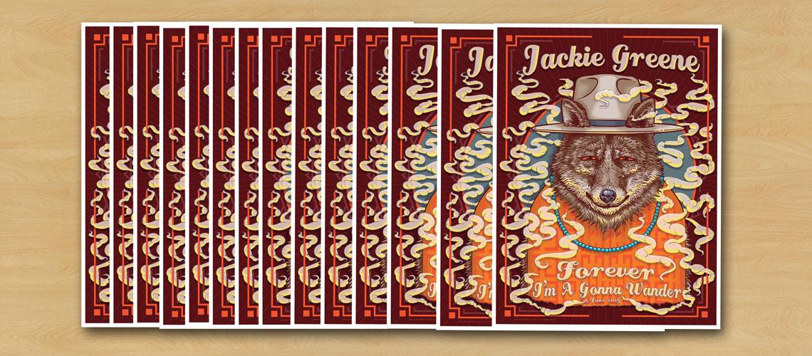 Jackie Greene Poster