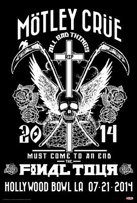 Mötley Crüe Concert Poster