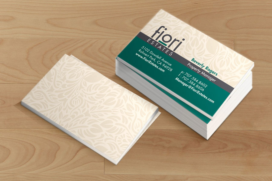 Fiori Estates Business Cards – WIGT Printing