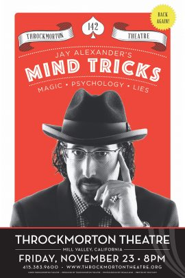 Jay Alexander's Mind Tricks Poster