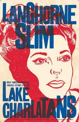 Lake Charlatans Poster