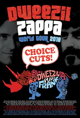 Sweezil Zappa World Tour 2018